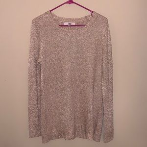 like NEW - JACK open back sweater - sequins